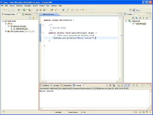 I Put A Red Border Around The Output Screen That Is Where Java Displays Its In Eclipse